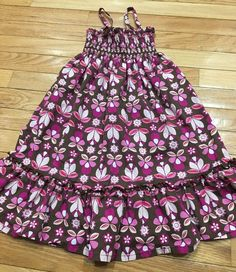 59ce799c5da3c Hanna Andersson Pillowcase Dress Sundress Girls Size 110 6 7 Years Tank  Straps #fashion #