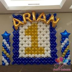 Arches, Centerpieces, Columns, Backdrops, Sculptures and more. We use Balloons to decorate some of the best parties while maximizing any budget. Prince Birthday Theme, Boys 1st Birthday Cake, 1st Birthday Balloons, Birthday Balloon Decorations, Birthday Themes For Boys, Preschool Christmas Crafts, Cute Diy Projects, Baby Girl Shower Themes, Custom Balloons