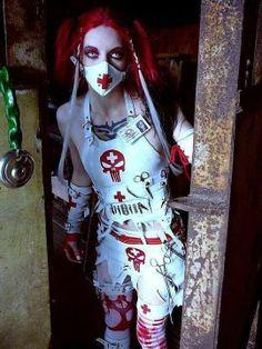 Cyber Goth Nurse