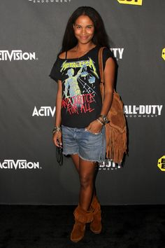 Joy Bryant - Activisions The Call Of Duty: Black Ops Launch Party - Arrivals blackwomeninboots.blogspot.com