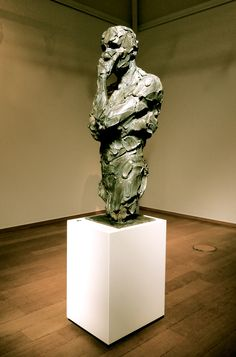 'Sagace' bronze 110cm by Catherine Thiry sculpture #sculpturactGallery