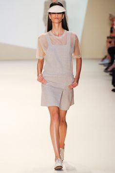 Akris Spring 2015 Ready-to-Wear - Collection - Gallery - Look 1 - Style.com
