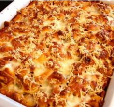 Chicken Parmesan Casserole - Haven't tried it, but it looks easy.