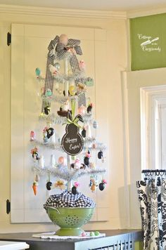 Easter Tree for the Kitchen - Cottage at the Crossroads