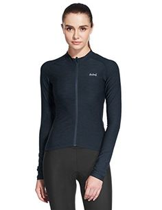 Baleaf Women's Space Dye Long Sleeve Cycling Jersey UPF 30  Black Size M ** Read more reviews of the product by visiting the link on the image.