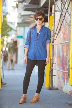 Tomboy Street Style - San Francisco Fashion