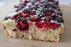 Oatbake with berries - Finnish Recipe. I'll have to have my Mom convert the ml and dl so I can make this recipe!
