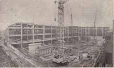 Bouw Hilvertshof 1972