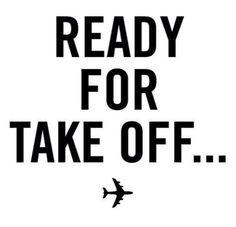 pronto para decolagem...