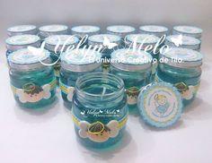 vasos decorados para baby shower - Buscar con Google