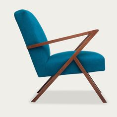The elaborately stitched segments on the seat and backrest, as well as the all-round piping give the chair the timeless look of the Mi. Upholstered Furniture, Home Furniture, Turquoise Office, George House, Loft Interiors, Furniture Collection, Bauhaus, Color Pop, Classic Style
