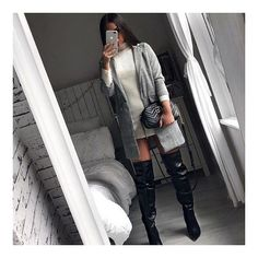 40+ Cute Fall and Winter Outfit Ideas - Treceefabulous New Outfits, Winter Outfits, Checked Blazer, Long Blazer, Sweaters And Leggings, New Wardrobe, Gingham, Preppy, Zara