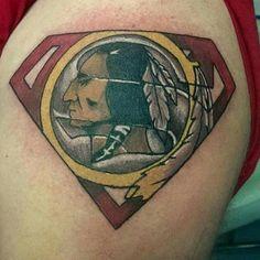 More great #Redskins ink!