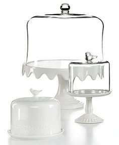 Martha Stewart Cake Stands With Dome