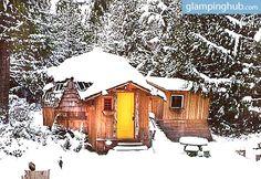 Cabins in Lund BC | Dome Unique accommodation BC
