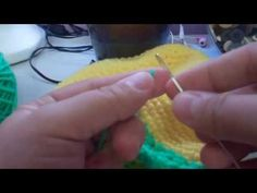 ▶ Tutorial How to Crochet Tinkerbell Beanie - YouTube