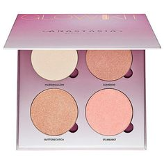 """ANASTASIA BEVERLY HILLS Sugar Glow Kit: """"I have all the glow kits and this one is one of my favorite glow kits thus far. The texture is smooth, blends easily and the color selection is great. There is no chunky glitter or fallout and it looks great on my fair skin."""" -Julezzs"""