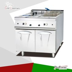 1261.00$  Watch now - http://alitrx.worldwells.pw/go.php?t=32619671943 - PKJG-985.2 Gas Fryer ( 2 tank & 2 basket) with Cabinet, 900 series, for Commercial Kitchen 1261.00$
