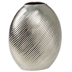 Modernist Sterling Silver Vase | From a unique collection of antique and modern vases at http://www.1stdibs.com/furniture/dining-entertaining/vases/