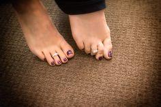 Wedding Photography, toe ring, toe polish, bride