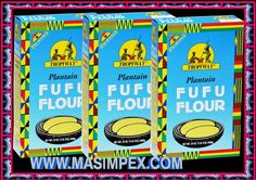 Tropiway Plantain FuFu 3x680g Packung