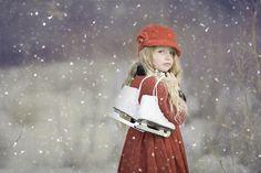Schlittschuhe, Winter, Eislaufen, Skaten, Schnee