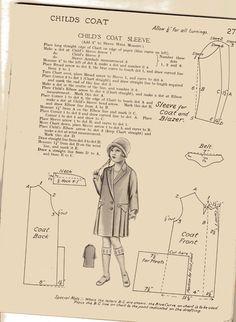 child's coat, 1929
