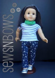 Adorable Tween Outfit for American Girl Doll
