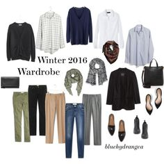 Winter 2016 Wardrobe by bluehydrangea on Polyvore featuring polyvore, fashion, style, Madewell, Boden, Banana Republic, 7 For All Mankind, J.Crew, Dr. Scholl's and Sam Edelman
