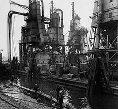 Maashaven Drijvende Graanelevatoren 1964 Rotterdam, Big Ben, Travel, Gem, Ships, History, Nostalgia, Boats, Viajes