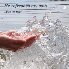 Psalm 23:3♡