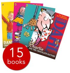 New Roald Dahl Collection - 15 Books(Collection):9780141349985