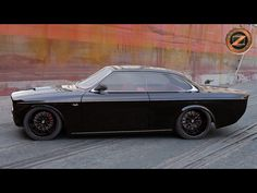 Custom Volvo 142 by Bo Zolland