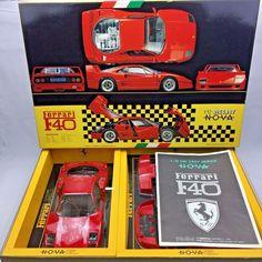 """FUJIMI """" DIECAST NOVA FERRARI F40 """" Rare 1 12 Plastic Model Kit From Japan #Fujimi #Ferrari"""