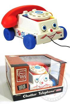 Chatter Phone-- I think my Mom still has this in the toy closet too!  Fischer Price is the BEST!