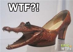 Now that's what I call Crocodile Shoes! ♕ DiamondB! Pinned ♕