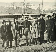 Federal troops in Corinth Mississippi during winter 1862 (Photographic History of the Civil War)