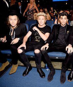 Harry, Zayn and Niall