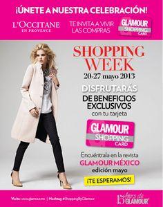 Hoy es el último día para vivir las compras con GLAMOUR SHOPPING CARD, no pierdan la oportunidad de hacer válidos los descuentos y promociones que tienen al presentarla en las boutiques participantes.