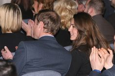 15.01.2010 Prince William chats with girlfriend Kate Middleton during the graduation ceremony of Number 115 Multi Engine Advanced Rotary Wing Cours.