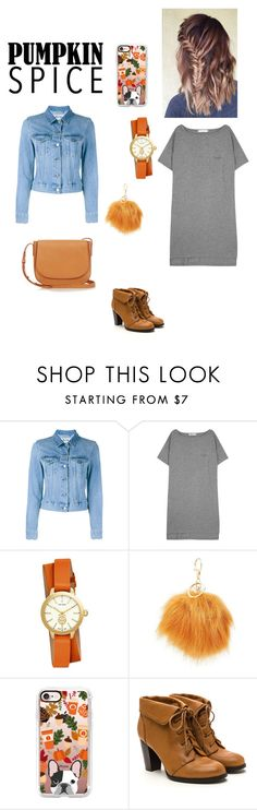 """""""Untitled #17"""" by emilykrosendahl ❤ liked on Polyvore featuring Acne Studios, T By Alexander Wang, Tory Burch, Charlotte Russe, Casetify and Mansur Gavriel"""