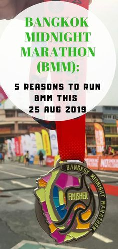 I ran Bangkok Midnight Marathon (BMM) in 2018 but I have decided to go back and run BMM again this 25 August Let me share my 5 reasons why I am going back to Thailand to run this race. The Pacer, Beginning Running, Running Race, Running Shirts, Finish Line, Chiang Mai, Amazing Destinations, Phuket, Beautiful Beaches