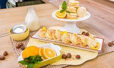 Home & Family - Recipes - Cristina Cooks: Sponge Kisses With Meyer Lemon Cream | Hallmark Channel