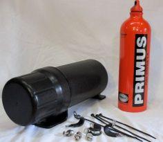 Mega Tube, MegaTube, Large size Motorcycle Storage Tubes, Auxiliary Fuel Storage solution, locking document holder