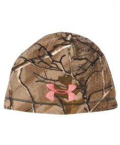 51ea83598a8d3 Under Armour Women s RealTree Camo Beanie Hunting Girls