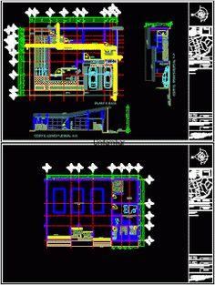 Plan Autocad Atelier mécanique dwg | Génie civil et Travaux Publics Engineering