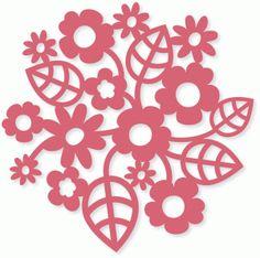 Silhouette Design Store - View Design #78439: blossom cluster