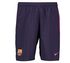 Nike Barcelona Away Soccer Shorts (Purple Dynasty)  Men s FC Barcelona  Stadium Short offers authentic Bara details and Dri-FIT technology that  wicks sweat ... ea8105a3525