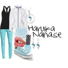 Haruka Nanase by my-special-maple-hockey on Polyvore