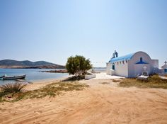 Agios Georgios church, #Antiparos #Greece